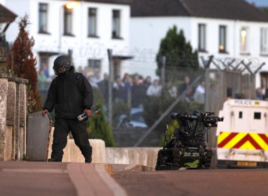 Bomb disposal unit in Northern Irleand. (file photo)