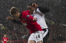 Januzaj earns soft penalty as Hernandez double sends United through