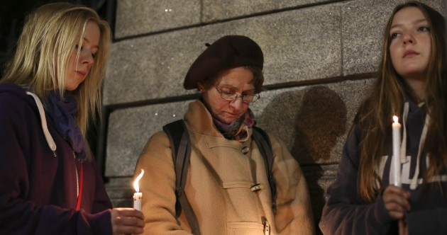 Candlelit vigils mark one year since Savita's death