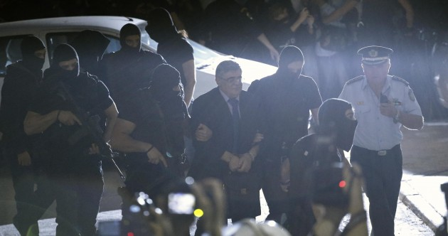 Leader of far-right Golden Dawn detained on criminal charges