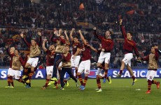 Perfect 10: Roma make history in Serie A