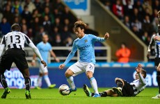 Manchester City march on thanks to Capitol One win in Newcastle