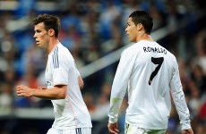 Take the pressure off Bale, says Ronaldo