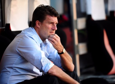 Swansea City's manager Michael Laudrup.