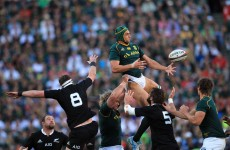 All Blacks win Rugby Championship after nine-try classic in Jo'Burg