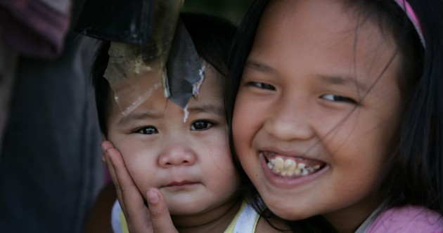 Up to four million children affected by Typhoon Haiyan