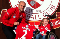 Sligo Rovers cup winners sign jersey for Spina Bifida charity auction