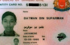 Man named 'Batman bin Suparman' is actually a supervillain