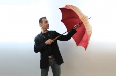How can this man sell an umbrella for thousands of euro?