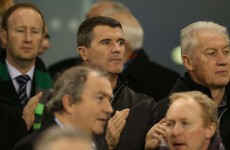 SNAPSHOT: O'Neill and Keane are at Ireland v Australia