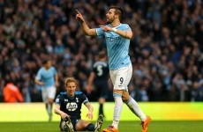 Rampant Man City put six past Tottenham