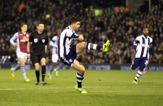 Sublime Shane Long fizzes in Baggies double but