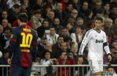 Ronaldo a notch above Messi, says Ramos