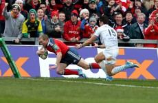 'We have another 30% in us' declares Earls as Munster pummel Perpignan