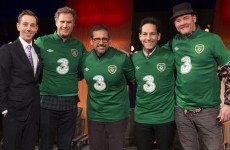 Anchorman in Ireland jerseys… and 4 other weekend TV highlights