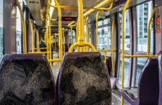 Man injects himself in the groin on the Luas