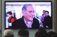 85-year-old American granddad released from North Korea