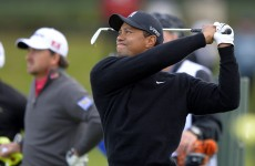 62 for Tiger Woods as Rory McIlroy languishes 17 shots back