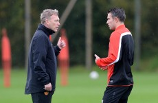 Moyes rejects Lawrenson claims of RVP transfer request as 'absolute nonsense'