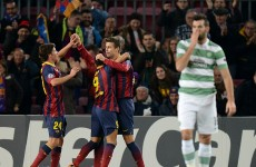 Barcelona are carving up Celtic at Camp Nou