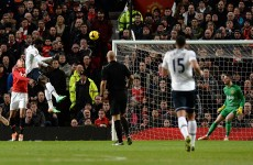 As it happened: Manchester United v Tottenham, Premier League